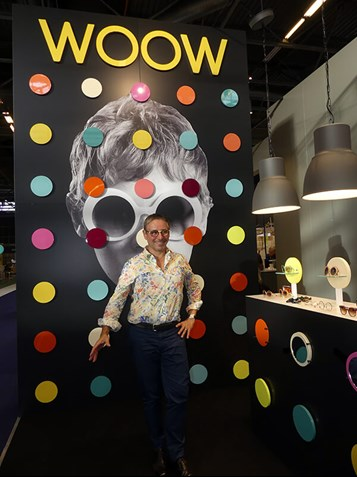 Colour means happiness, says Design Eyewear's head designer Pascal Jaulent
