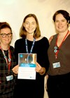Jacqui Kenyon, Haag-Streit UK, Lisette Bijma, Oxford Eye Emergency Department Sister, Rosalyn Painter.